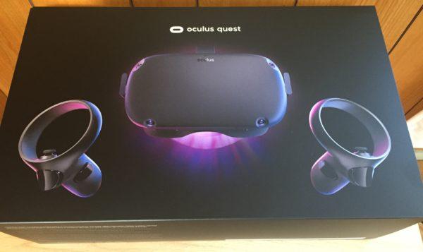 OculusQuest到着