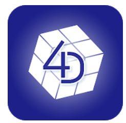 4D MEDIA PLAYERアプリ画像