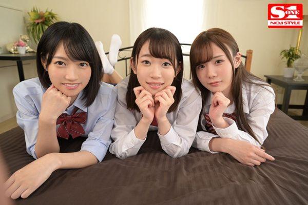 出演女優の架乃ゆらさん、伊賀まこさん、坂道みるさんら3人